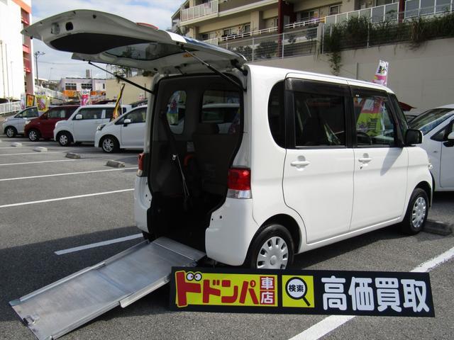 沖縄県の中古車ならタント スローパー福祉車両