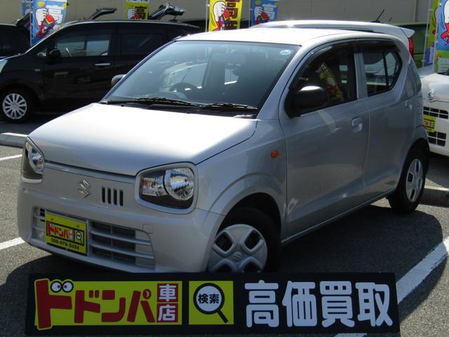 沖縄の中古車 スズキ アルト 車両価格 50万円 リ済込 2015(平成27)年 4.9万km ゴールド