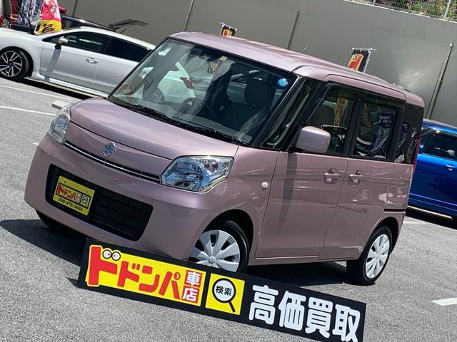 沖縄県の中古車ならスペーシア X レーダーブレーキサポート車 フルセグ ナビ