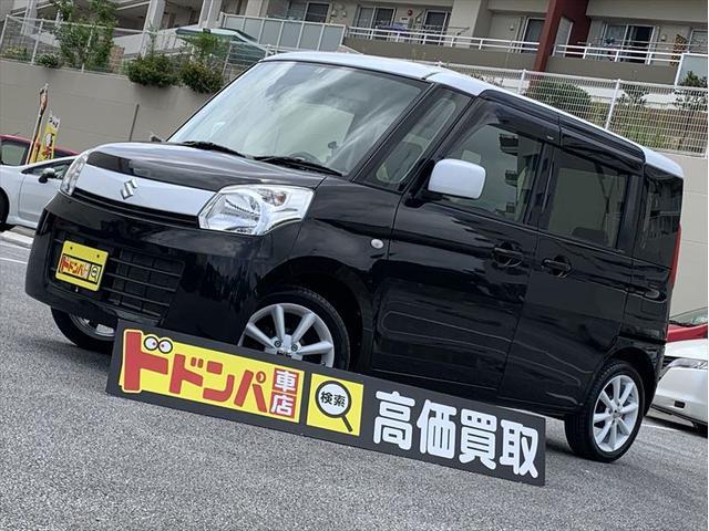 沖縄県うるま市の中古車ならスペーシア G 新品アルミホイール 2トーンカラー 2年保証
