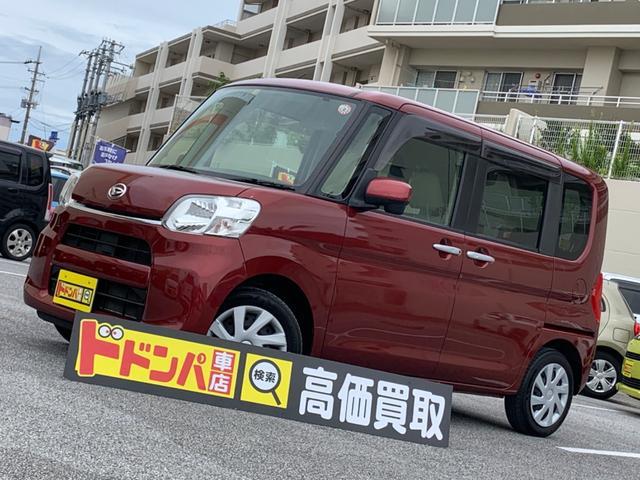 沖縄の中古車 ダイハツ タント 車両価格 65万円 リ済込 2014(平成26)年 8.0万km レッドM