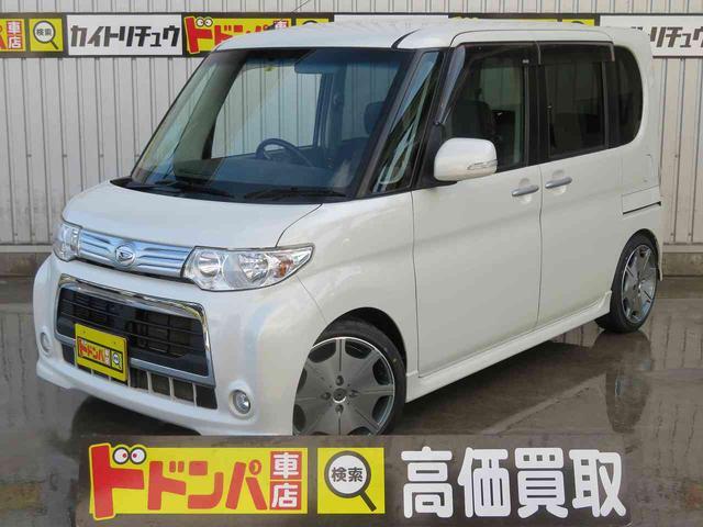 沖縄の中古車 ダイハツ タント 車両価格 40万円 リ済別 2011(平成23)年 10.5万km ホワイト