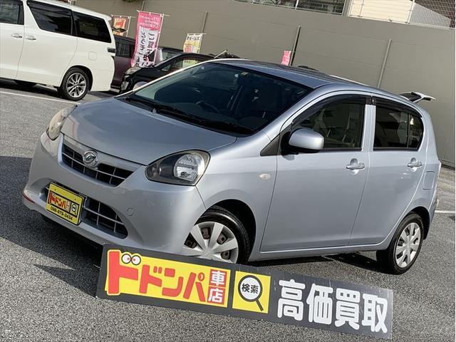沖縄県うるま市の中古車ならミライース X アイドリングストップ 新品カバー付き オプション付き