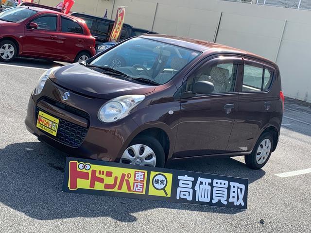 沖縄の中古車 スズキ アルト 車両価格 10万円 リ済別 2010(平成22)年 10.4万km ブラウン
