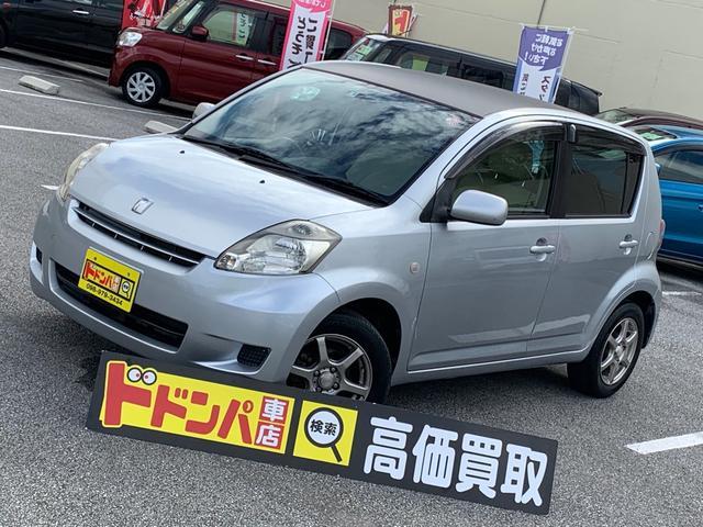 沖縄の中古車 トヨタ パッソ 車両価格 28万円 リ済別 2009(平成21)年 6.2万km シルバー