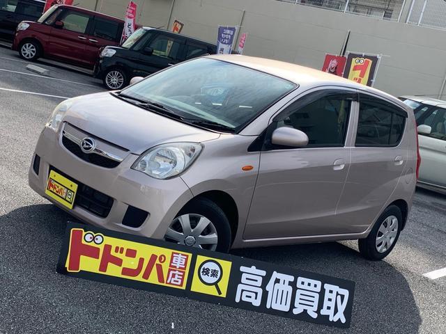 沖縄の中古車 ダイハツ ミラ 車両価格 30万円 リ済込 2011(平成23)年 8.4万km ピンク
