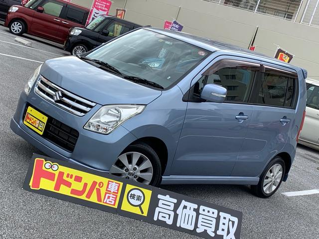 沖縄の中古車 スズキ ワゴンR 車両価格 41万円 リ済込 2010(平成22)年 5.2万km ブルー