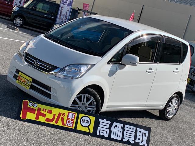 沖縄の中古車 ダイハツ ムーヴ 車両価格 26万円 リ済込 2009(平成21)年 9.9万km パールホワイト