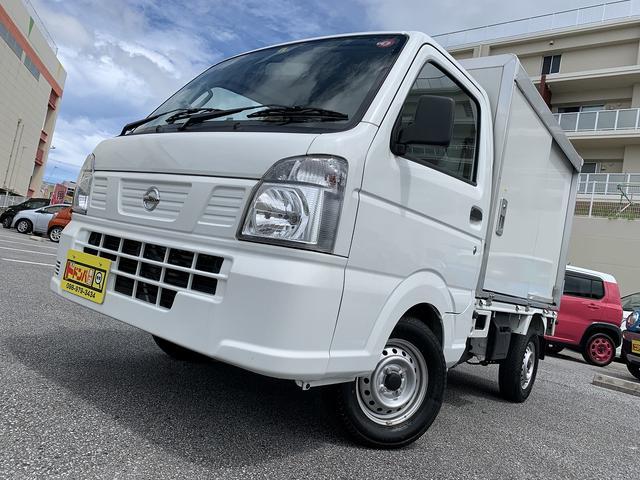 沖縄県の中古車ならNT100クリッパートラック  簡易保冷車 ETC バックモニター フルセグ・ナビ付!