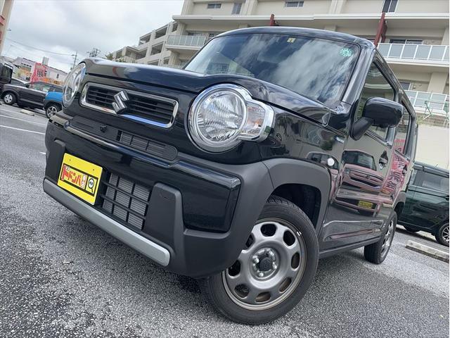 沖縄県うるま市の中古車ならハスラー ハイブリッドG スズキセーフティーサポート 9インチナビ シートヒーター 全方位カメラ
