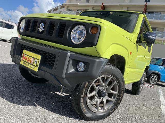 沖縄県うるま市の中古車ならジムニー XC 5MT 新品オーディオ Bluetooth 衝突軽減ブレーキ 横滑り防止 クルーズコントロール シートヒーター ETC付