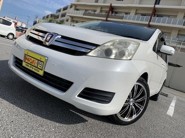 沖縄県の中古車ならアイシス L 新品社外17インチアルミホイール 7人乗り ETC付