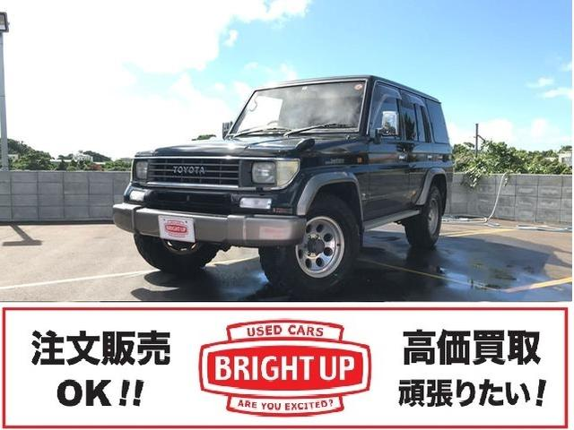 沖縄の中古車 トヨタ ランドクルーザープラド 車両価格 139万円 リ済別 1996(平成8)年 19.7万km ブラックII