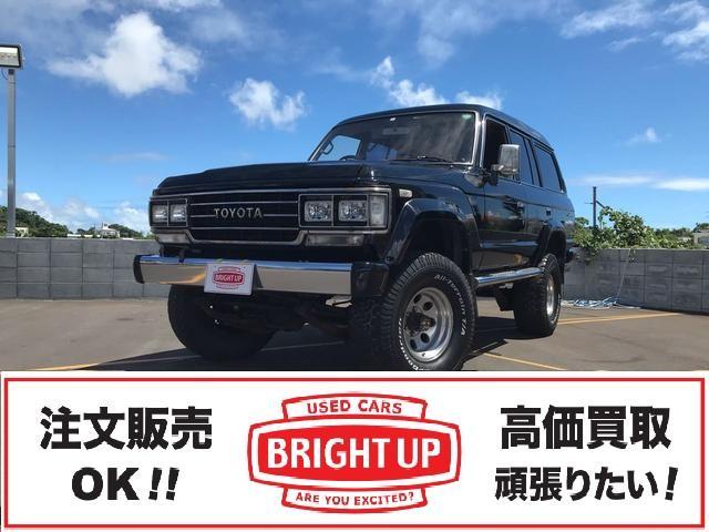 沖縄の中古車 トヨタ ランドクルーザー60 車両価格 159万円 リ済別 1989(平成1)年 24.0万km ブラック