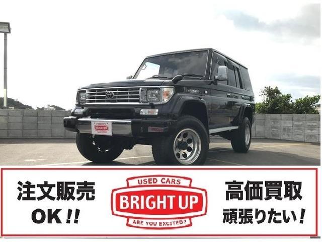 沖縄の中古車 トヨタ ランドクルーザープラド 車両価格 155万円 リ済別 1993(平成5)年 21.3万km ブラック