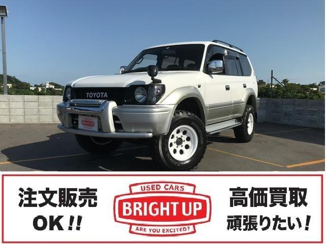 沖縄の中古車 トヨタ ランドクルーザープラド 車両価格 149万円 リ済別 1998(平成10)年 18.0万km ホワイトII