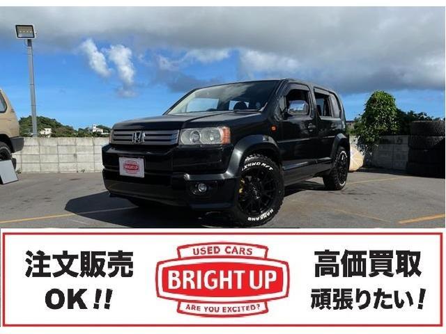 沖縄の中古車 ホンダ クロスロード 車両価格 89万円 リ済別 2008(平成20)年 11.3万km ブラック