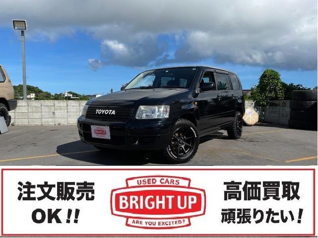 沖縄の中古車 トヨタ サクシードワゴン 車両価格 85万円 リ済別 2009(平成21)年 13.3万km ブラック