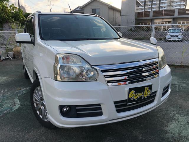 沖縄の中古車 日産 エクストレイル 車両価格 29万円 リ済込 2008(平成20)年 18.0万km パール