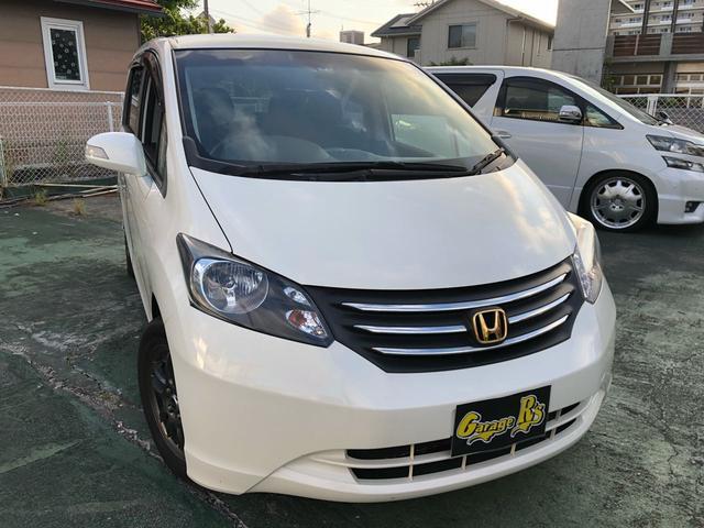 沖縄の中古車 ホンダ フリード 車両価格 65万円 リ済込 2011(平成23)年 4.9万km パール