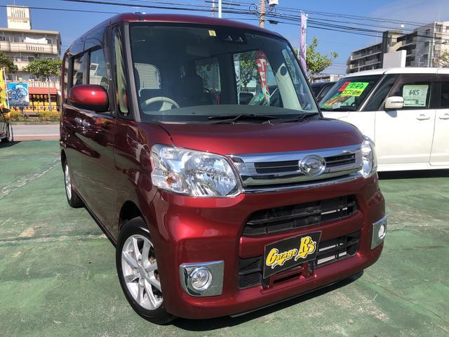 沖縄の中古車 ダイハツ タント 車両価格 119万円 リ済込 2017(平成29)年 1km ダークレッド