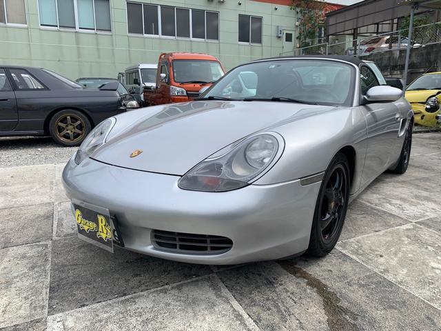 沖縄市 Garage R's ポルシェ ボクスター ボクスター グレー 7.5万km 2001(平成13)年