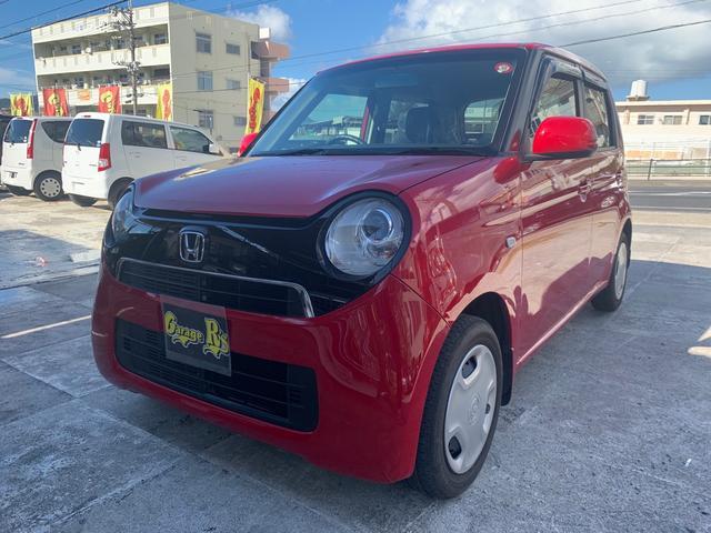 沖縄の中古車 ホンダ N-ONE 車両価格 56万円 リ済込 2013(平成25)年 5.0万km レッド