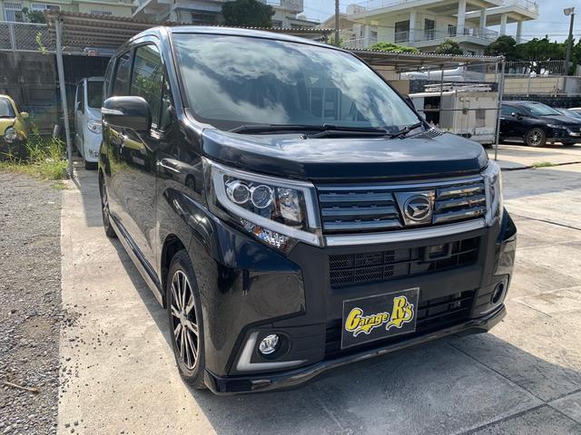 沖縄の中古車 ダイハツ ムーヴ 車両価格 83万円 リ済込 2015(平成27)年 6.0万km ブラック