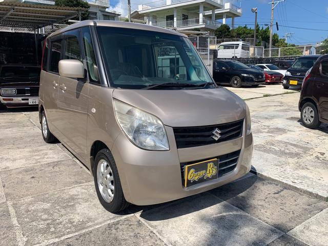 沖縄の中古車 スズキ パレット 車両価格 25万円 リ済込 2009(平成21)年 13.0万km ゴールド