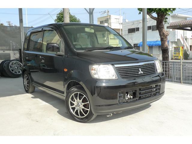沖縄の中古車 三菱 eKワゴン 車両価格 20万円 リ済込 2005(平成17)年 12.0万km ブラックM