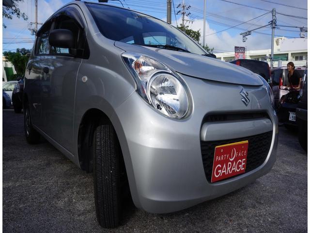 沖縄の中古車 スズキ アルト 車両価格 39万円 リ済別 2014(平成26)年 1.2万km シルバー