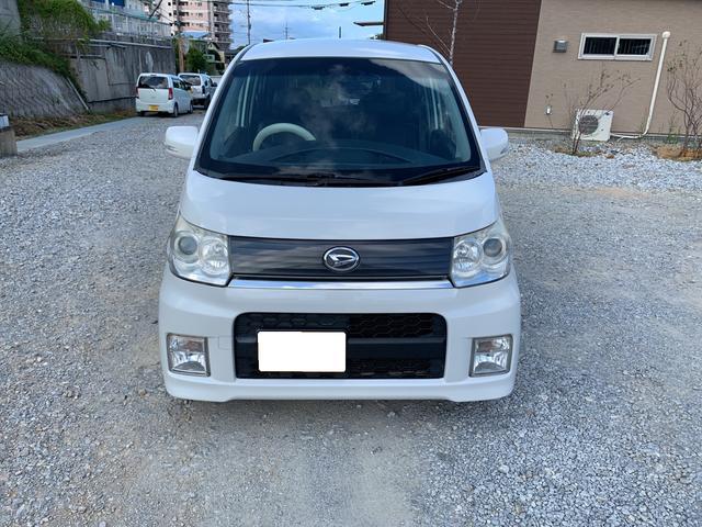 沖縄の中古車 ダイハツ ムーヴ 車両価格 19万円 リ済込 2009(平成21)年 21.6万km パールホワイト