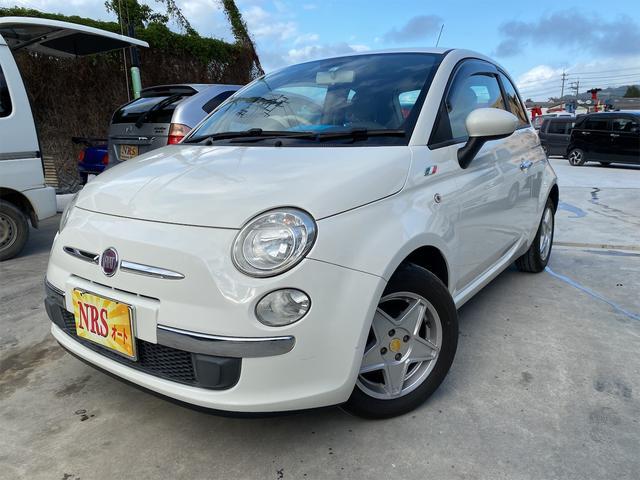 沖縄の中古車 フィアット 500 車両価格 59万円 リ済込 2011(平成23)年 7.6万km ホワイト
