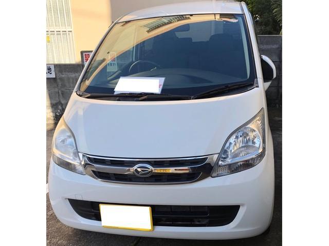 沖縄の中古車 ダイハツ ムーヴ 車両価格 20万円 リ済込 2008(平成20)年 9.0万km ホワイト