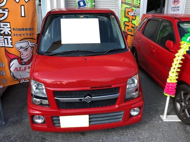 沖縄の中古車 スズキ ワゴンR 車両価格 25万円 リ済込 2006(平成18)後 7.5万km レッド
