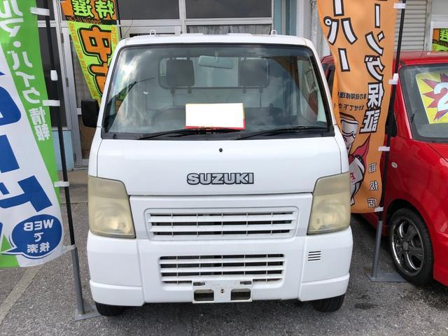沖縄の中古車 スズキ キャリイトラック 車両価格 28万円 リ済込 2002(平成14)年 11.7万km ホワイト