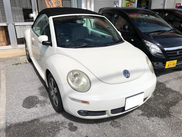 沖縄県の中古車ならニュービートルカブリオレ
