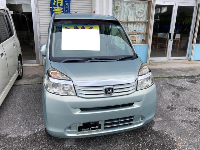 沖縄の中古車 ホンダ ライフ 車両価格 36万円 リ済込 2012(平成24)年 9.7万km ライトブルー