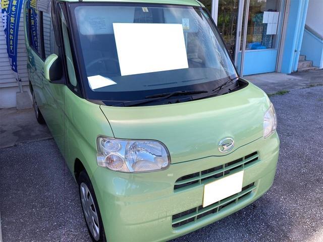 沖縄の中古車 ダイハツ タント 車両価格 38万円 リ済別 2012(平成24)年 8.6万km グリーン
