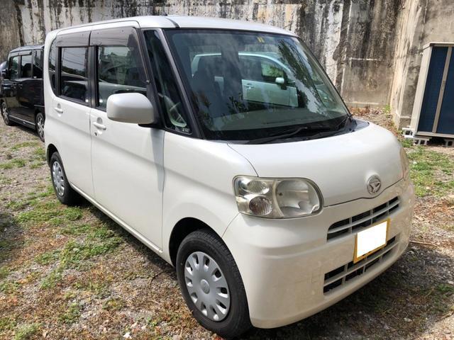 沖縄の中古車 ダイハツ タント 車両価格 17万円 リ済込 2009(平成21)年 14.5万km ホワイト