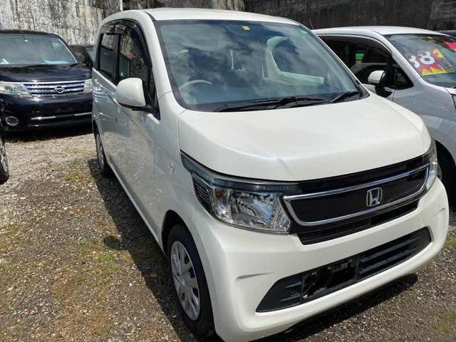 沖縄の中古車 ホンダ N-WGN 車両価格 42万円 リ済込 2014(平成26)年 10.7万km ホワイト