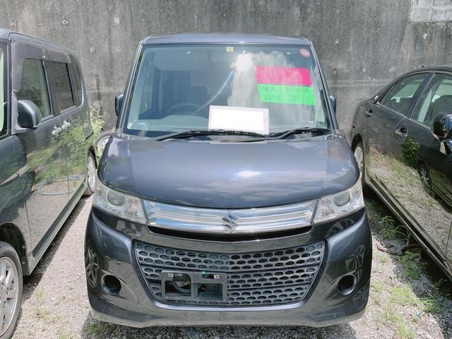 沖縄の中古車 スズキ パレットSW 車両価格 39万円 リ済込 2010(平成22)年 8.5万km グレー