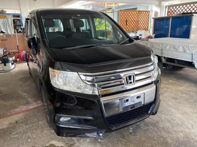 沖縄県沖縄市の中古車ならステップワゴンスパーダ Z エンジンオイル エンジンオイルフィルター交換