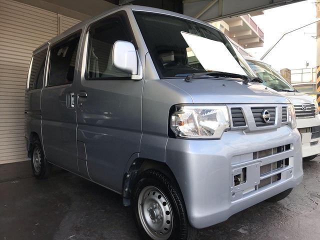 沖縄県宜野湾市の中古車ならNV100クリッパーバン DX 2年保証付き・走行距離5万km・5速マニュアル・ETC・リアガラス5面フィルム施工