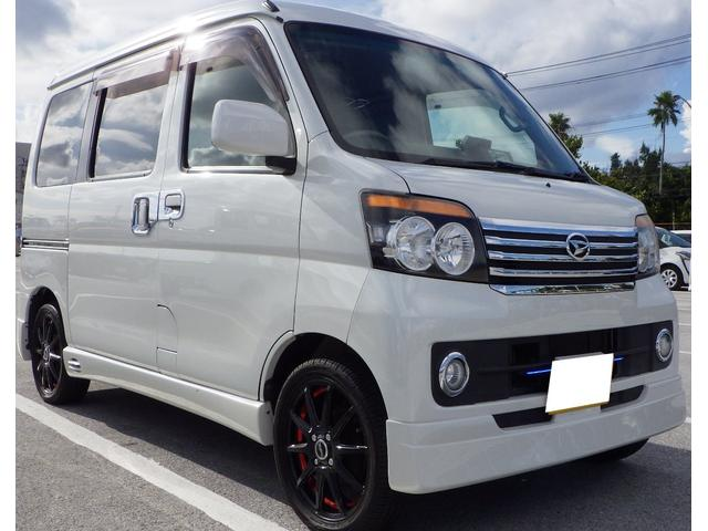 沖縄県の中古車ならアトレーワゴン カスタムターボRS 2年保証・走行4万・フルセグTV&ナビ