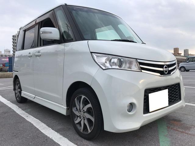 沖縄の中古車 日産 ルークス 車両価格 44万円 リ済込 2011(平成23)年 10.2万km スノーパールホワイト