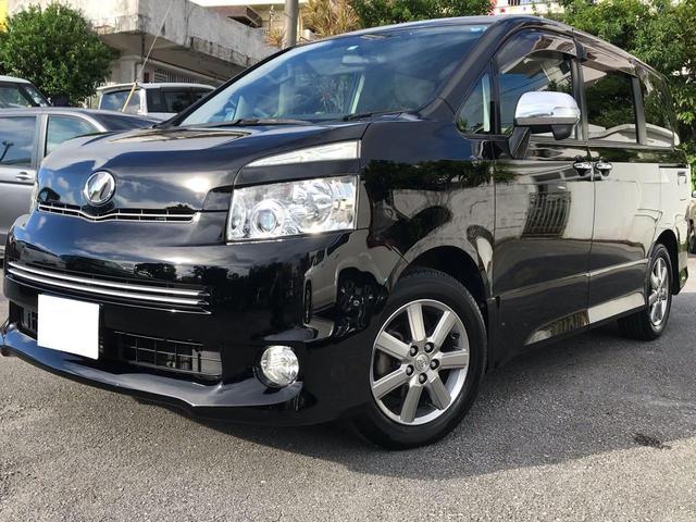 沖縄県の中古車ならヴォクシー ZS 煌II 2年保証・新品タイヤ・DVD&TV・Bカメラ付