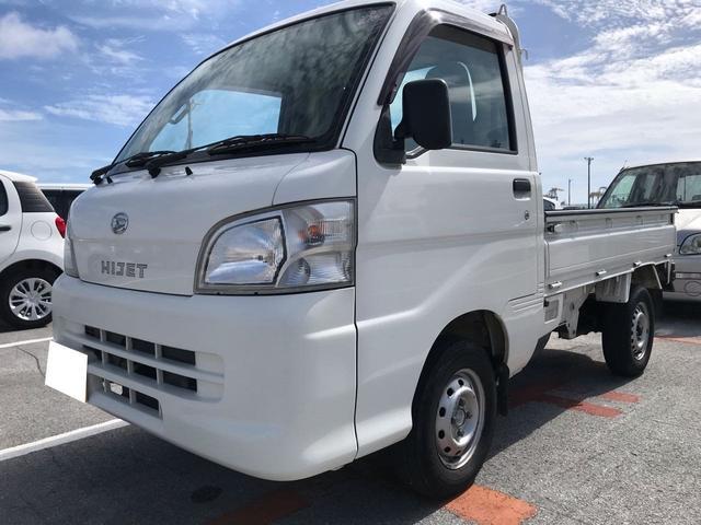 沖縄の中古車 ダイハツ ハイゼットトラック 車両価格 35万円 リ済込 2013(平成25)年 11.4万km ホワイト