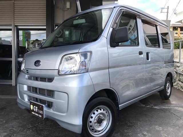 沖縄県の中古車ならサンバーバン トランスポーター 4速オートマ・2年間保証付き・キーレス・PW