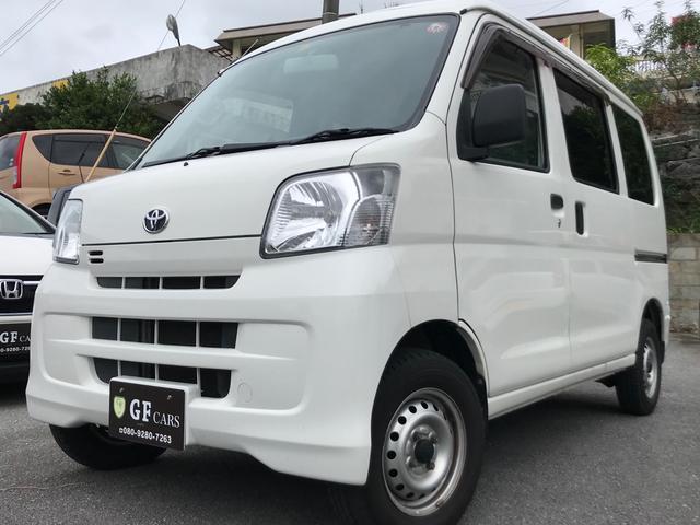沖縄の中古車 トヨタ ピクシスバン 車両価格 45万円 リ済込 2015(平成27)年 11.6万km ホワイト